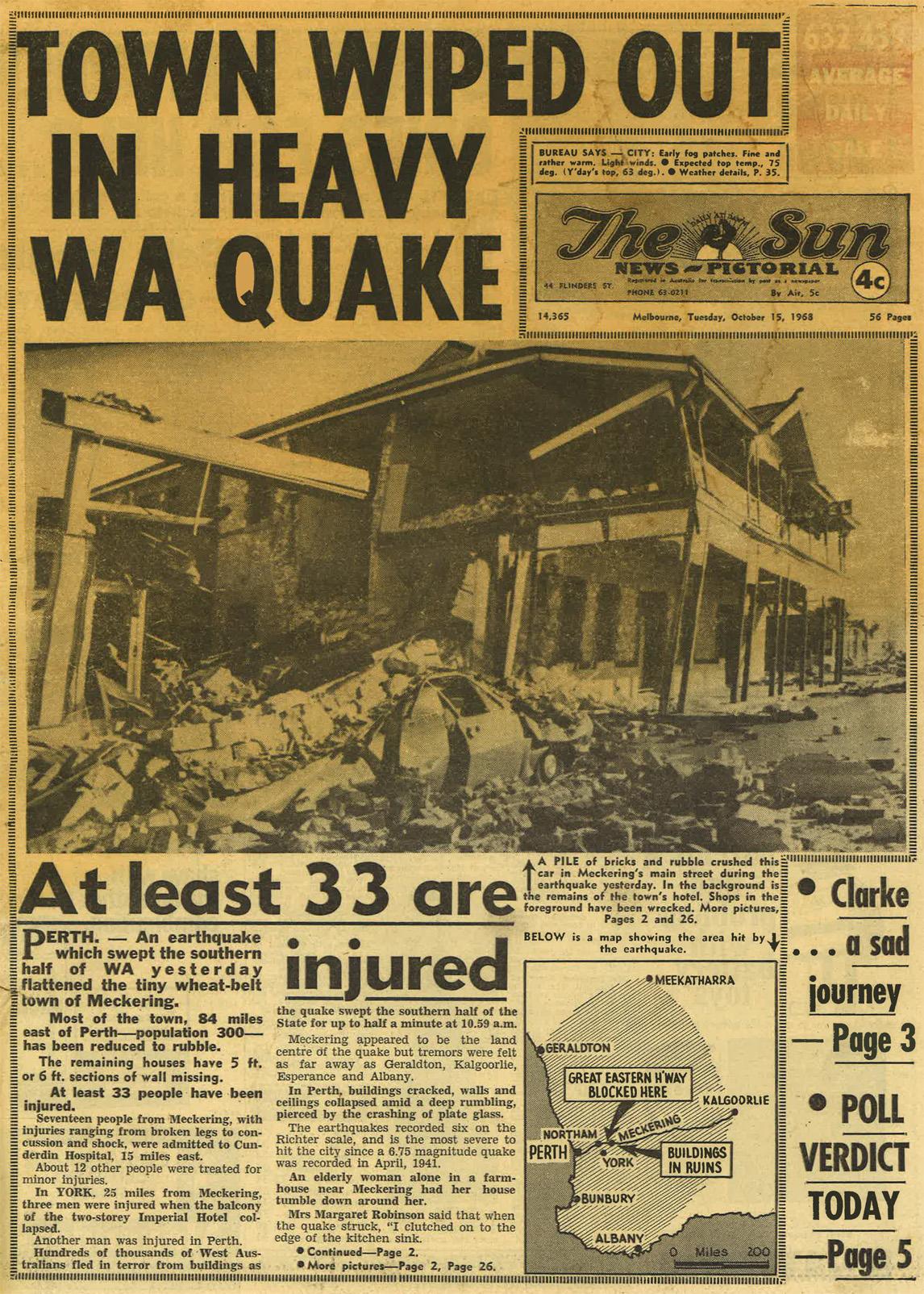 1968 Meckering Australian Earthquake Engineering Society